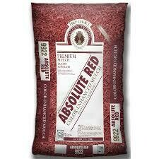 Bag RED Mulch (2 cu ft bag)