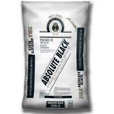 Bag BLACK Mulch (2 cu ft bag)