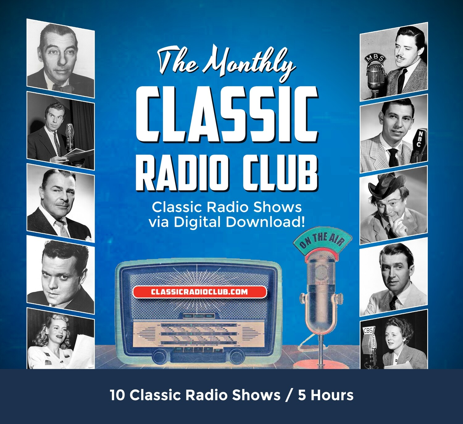Classic Radio Club Past Release #04 (Digital Download only)