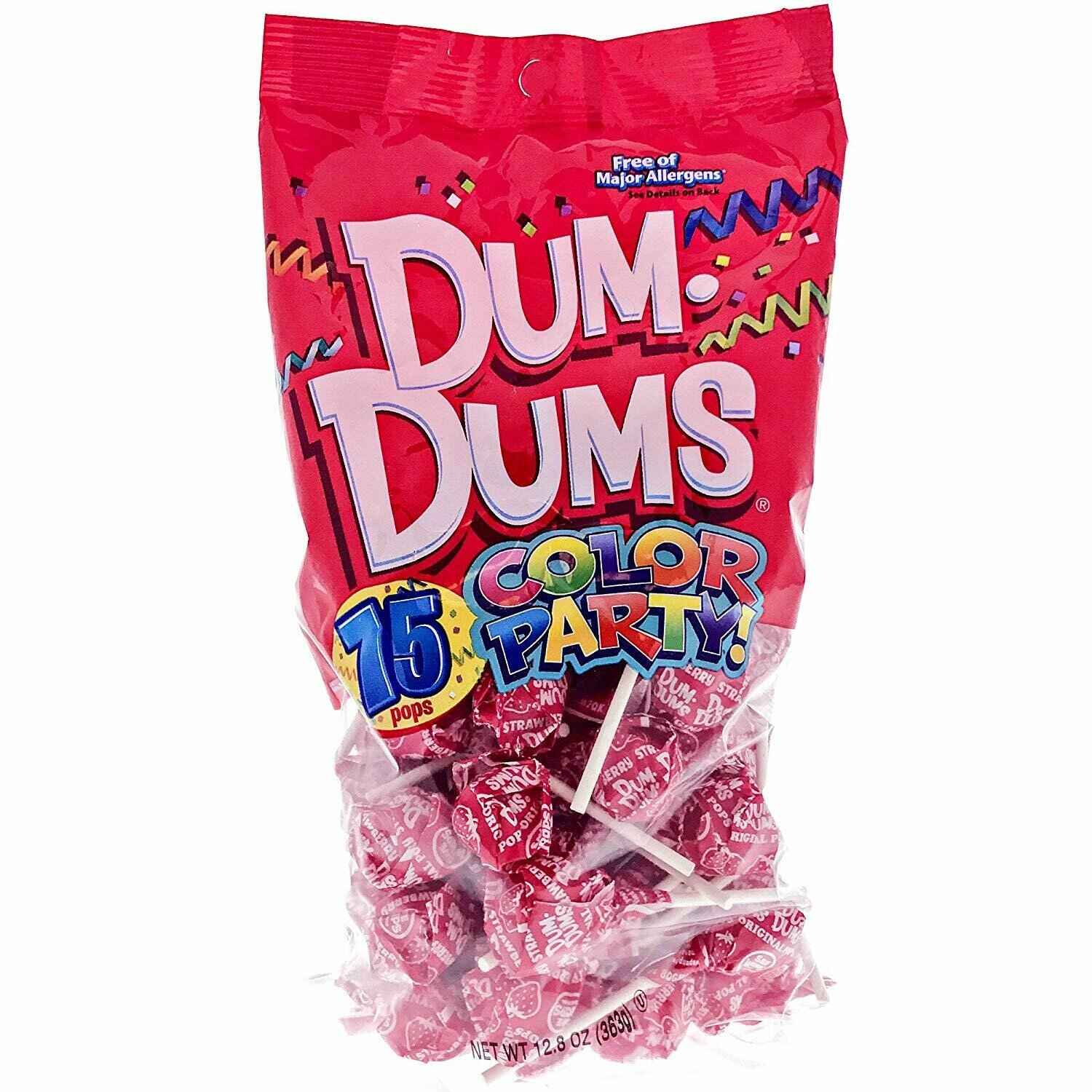 Dum Dums Strawberry 75ct