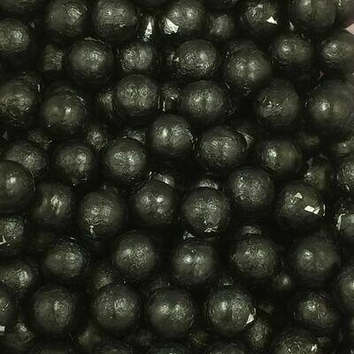 Chocolate Foil Balls Black 2lb