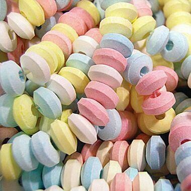 Candy Necklace Unwrp 2lb
