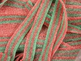 Sour Belts Straw/Apple 2.2lb