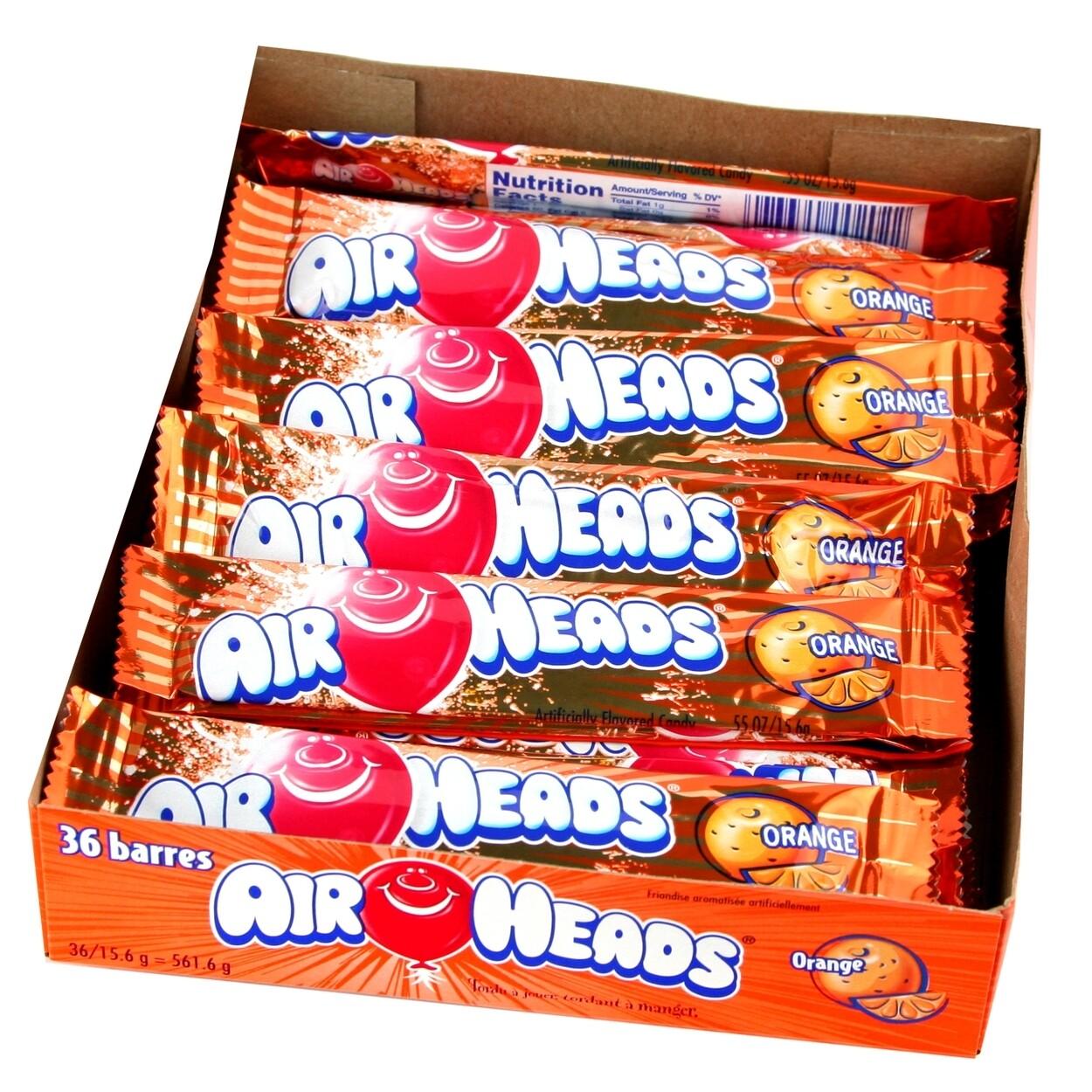 Air Heads Orange 36ct