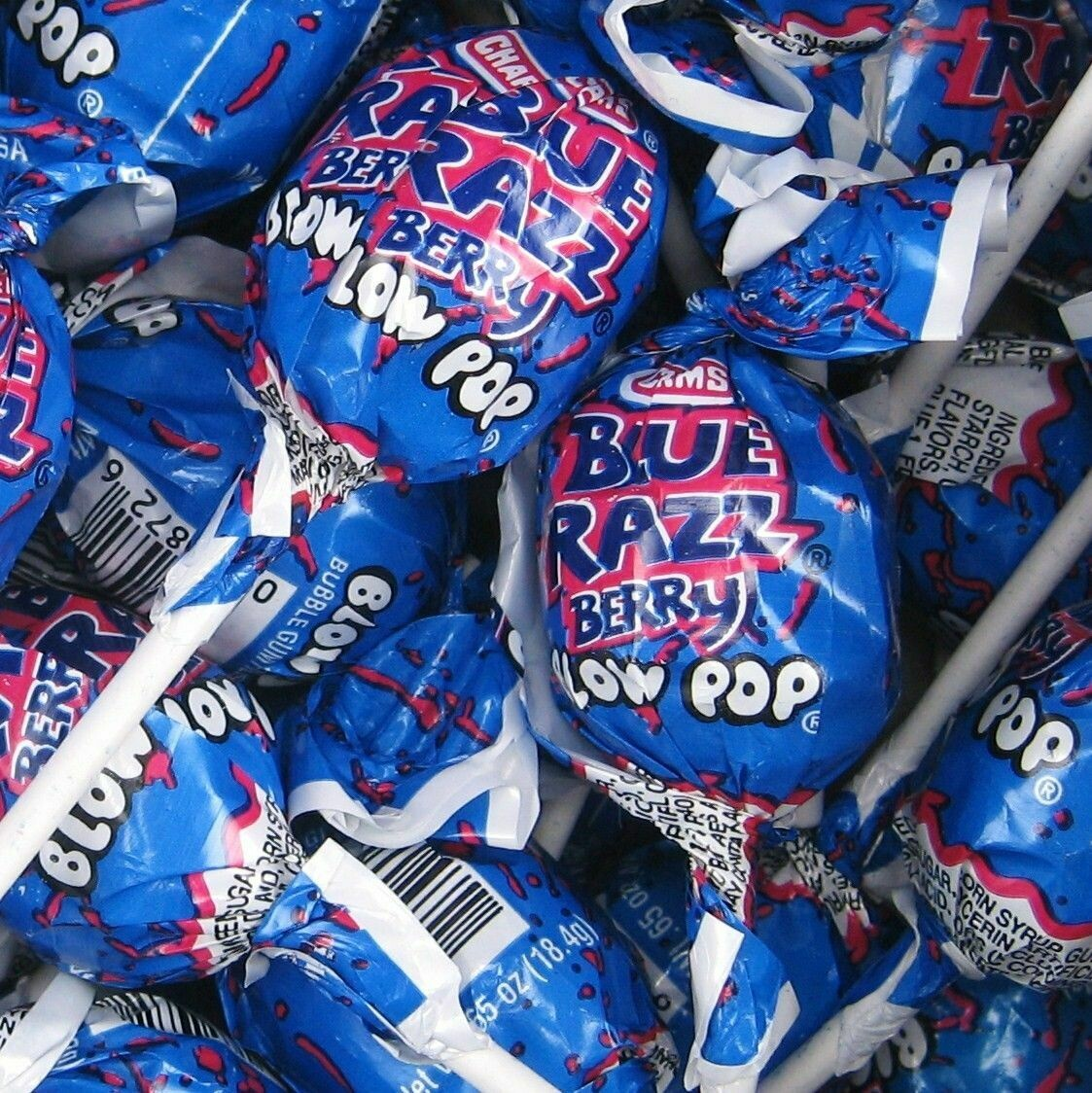 Blow Pop Blue Razz 48ct