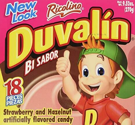Duvalin Fresa y Hazelnut 18ct