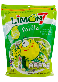 Limon 7 Lollipops 30ct