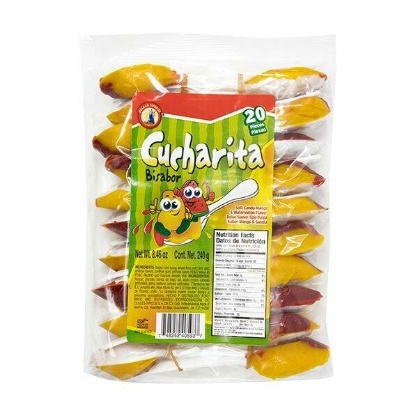 Cucharita Bisabor 20ct