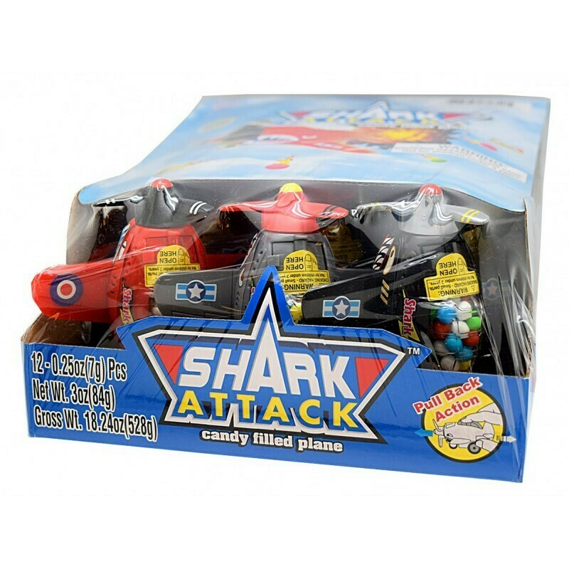 Shark Attack Plane 12ct