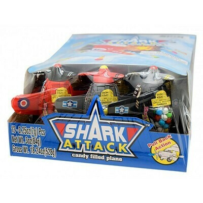 Shark Attack Plane 12ct
