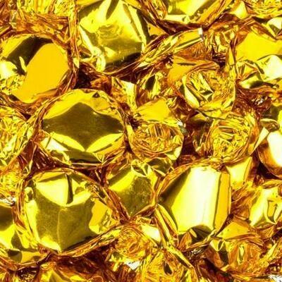 Foil Candy Gold 2.5lb