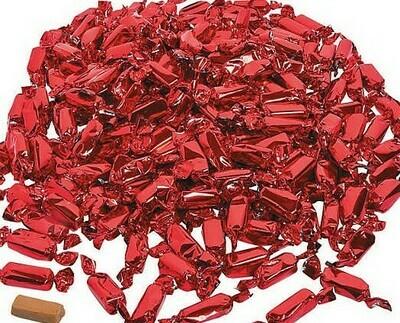 Caramel Foil Red 2lb