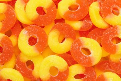 Peach Rings 4.5lb