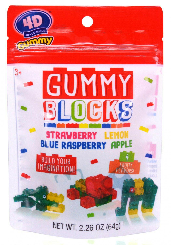 Gummy Blocks 2.26oz