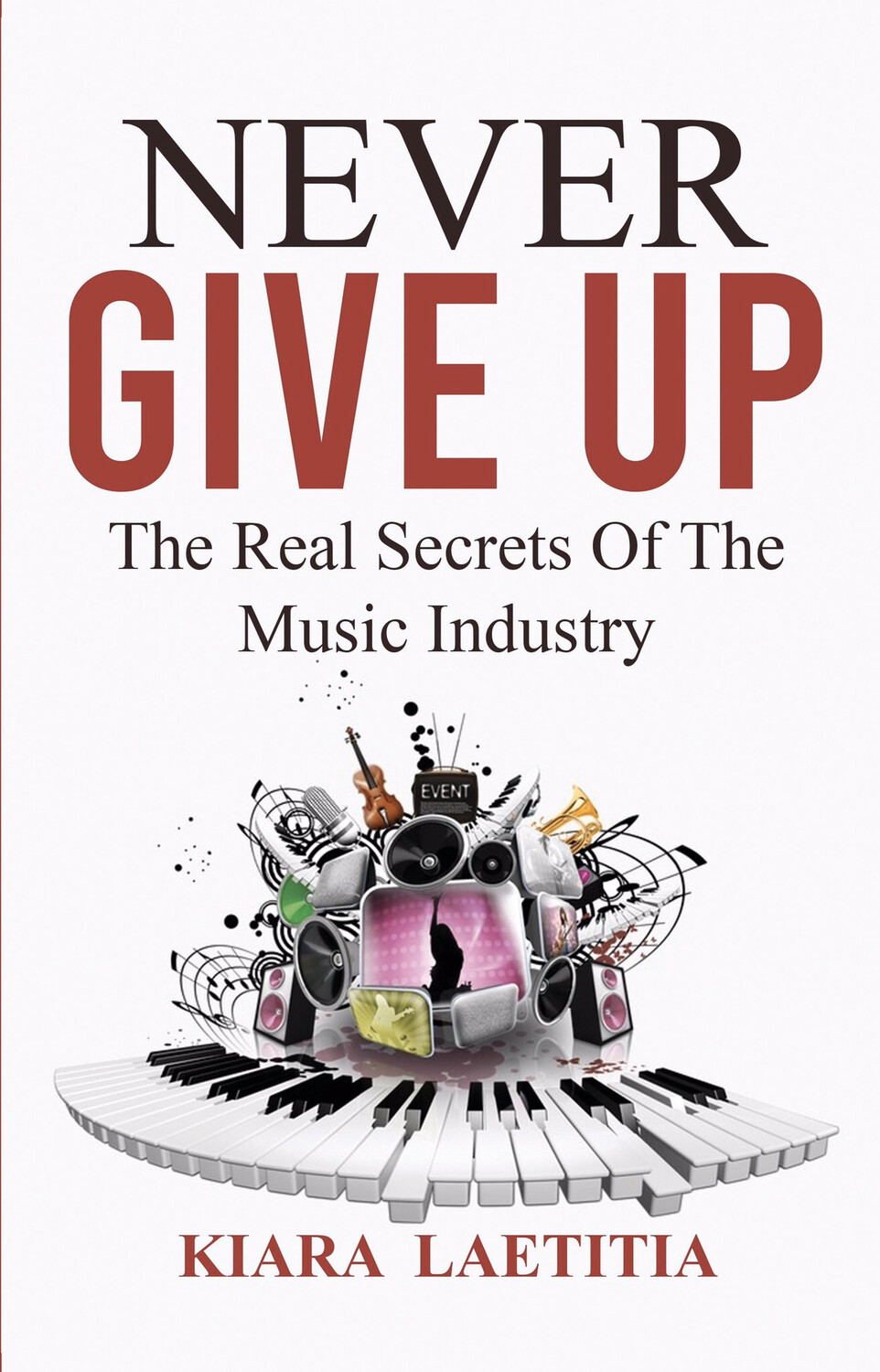 Book - Never Give Up   The Real Secrets Of The Music Industry