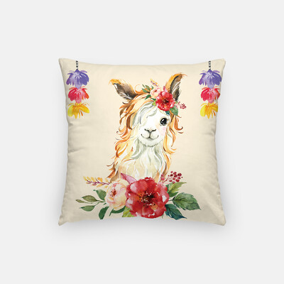 Llama Scatter Cushion Cover