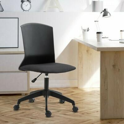 Vinsetto® Ergonomischer Bürostuhl Schreibtischstuhl höhenverstellbar Schwarz