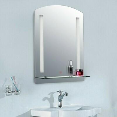 HOMCOM® LED Lichtspiegel Badspiegel Wandspiegel
