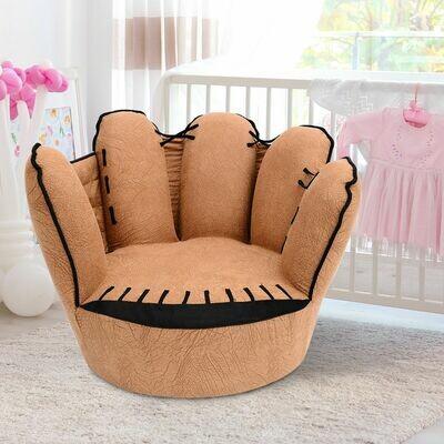 HOMCOM® Kindersofa Baseball Sofa Sessel fünf Fingersofa