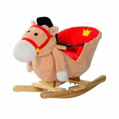 HOMCOM® Schaukelpferd Schaukeltier Baby Schaukelspielzeug