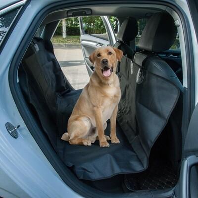 PawHut® Hundedecke Autodecke wasserdicht Schwarz L147 x B137 cm