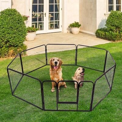 PawHut® Welpenauslauf Freilaufgehege für Kaninchen und Kleintiere 80x60 cm