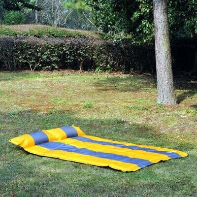 Outsunny® Isomatte Selbstaufblasend 2 Personen mit Kissen 185x130cm