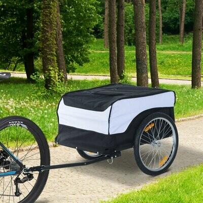 HOMCOM® Velo-Anhänger Transportanhänger Lastenanhänger Fahrrad Anhänger