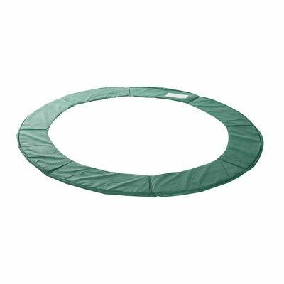 HOMCOM® Trampolin-Randabdeckung   PVC PE   Ø244 cm   Grün