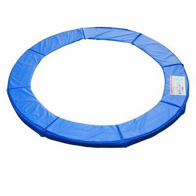 HOMCOM® Trampolin-Randabdeckung   PVC PE   Ø244 cm   Blau