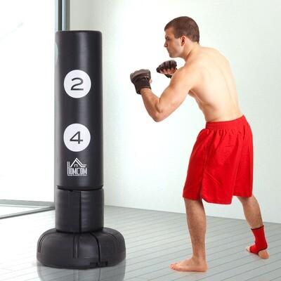 HOMCOM Bruce Lee Standboxsack | Boxtraining | 70 x 70 x 176 cm
