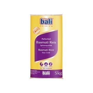 Grosspackung Bali Basmati Reis Parboiled 5 kg