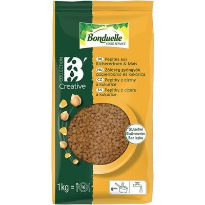 Grosspackung Bonduelle Pepites Kirchererbsen/Mais 6 x 1 kg = 6 kg
