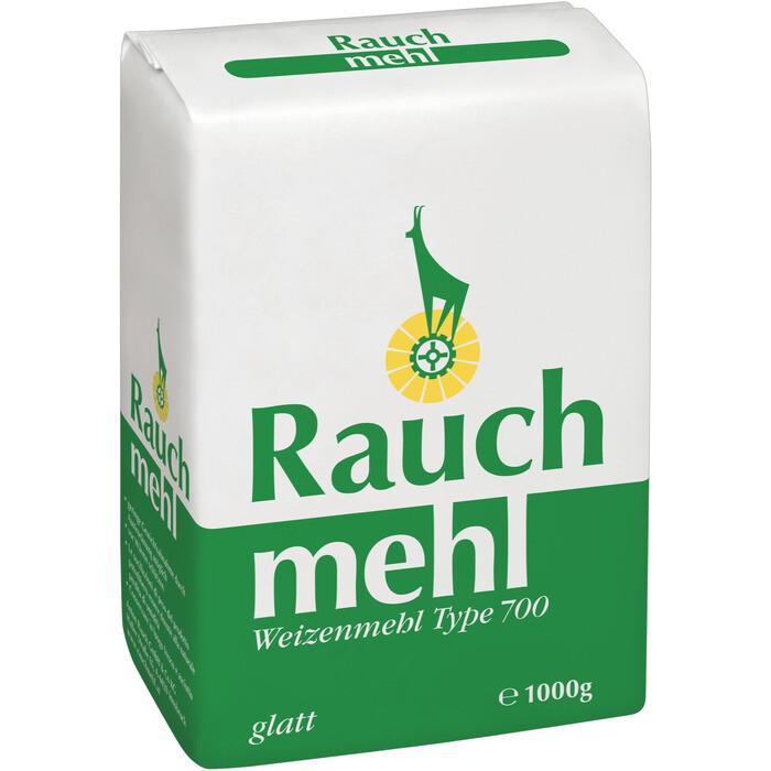 Grosspackung Rauch Weizenmehl glatt Type 700 10 x 1 kg = 10 kg