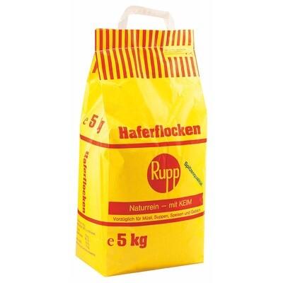 Grosspackung Rupp Haferflocken zart 5 kg