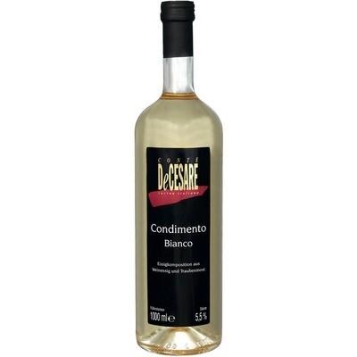 Grosspackung Conte de Cesare Balsamico bianco 6 x 1 l = 6 Liter