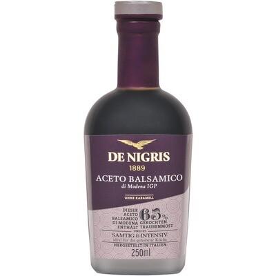 Grosspackung De Nigris Balsamico Aceto 65 % 6 x 250 ml = 1.5 Liter