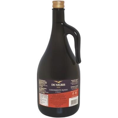 Grosspackung De Nigris Balsamico dunkel 4 x 1,5 l = 6 Liter
