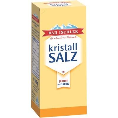Grosspackung Bad Ischler Kristallsalz Flour 16 x 500 g = 8 kg