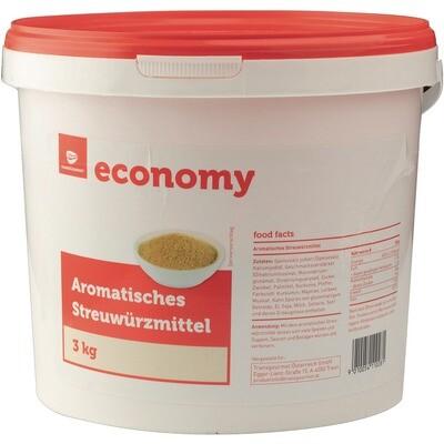 Grosspackung Economy Streuzwürzmittel aromatisert 3 kg (wie Aromat)