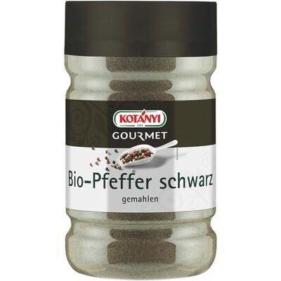 Grosspackung Kotanyi Bio Pfeffer schwarz gemahlen 1200 ccm