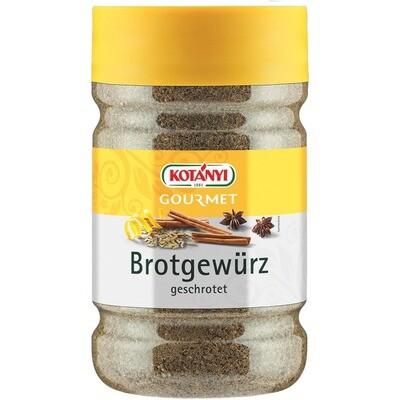 Grosspackung Kotanyi Brotgewürz geschrotet 1200 ccm