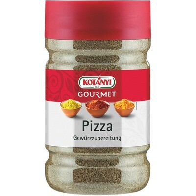 Grosspackung Kotanyi Pizzagewürz 1200 ccm