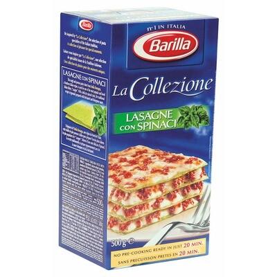 Grosspackung Barilla Lasagne Verdi 15 x 500 g = 7,5 kg