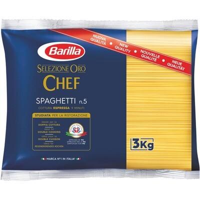 Grosspackung Barilla Selezione Oro Spaghetti 4 x 3 kg = 12 kg