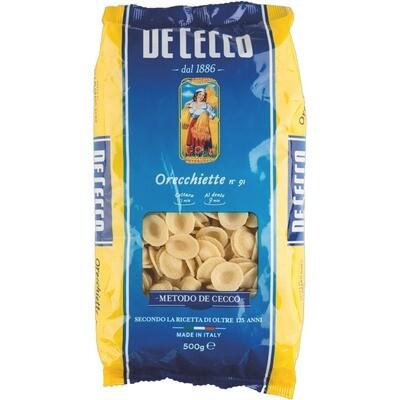 Grosspackung De Cecco Orecciette 24 x 500 g = 12 kg