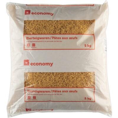 Grosspackung Economy 2 Ei Teigwaren Fadennudeln 5kg