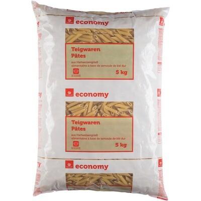 Grosspackung Economy Penne Hartweizengrieß 5 kg