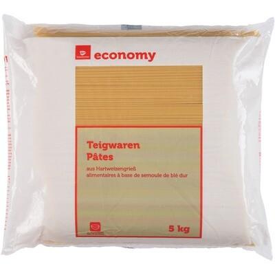 Grosspackung Economy Spaghetti Hartweizengrieß 5 kg