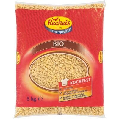 Grosspackung Recheis Bio Eiernockerl  Nudeln 5 kg